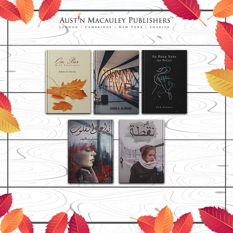 Austin-Macauley-5 Poetry-Books-for-Fall