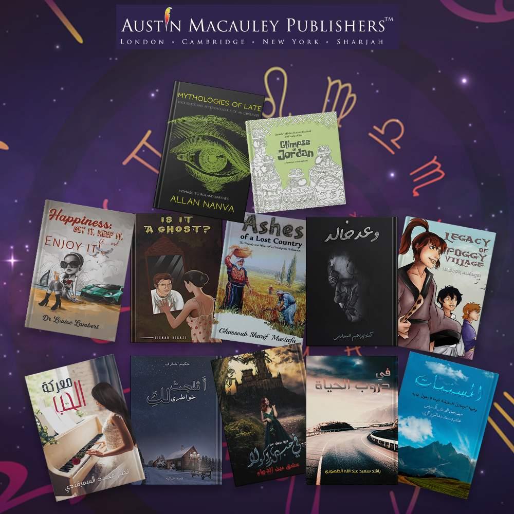 Austin Macauley's Book Based On Your Zodiac Sign