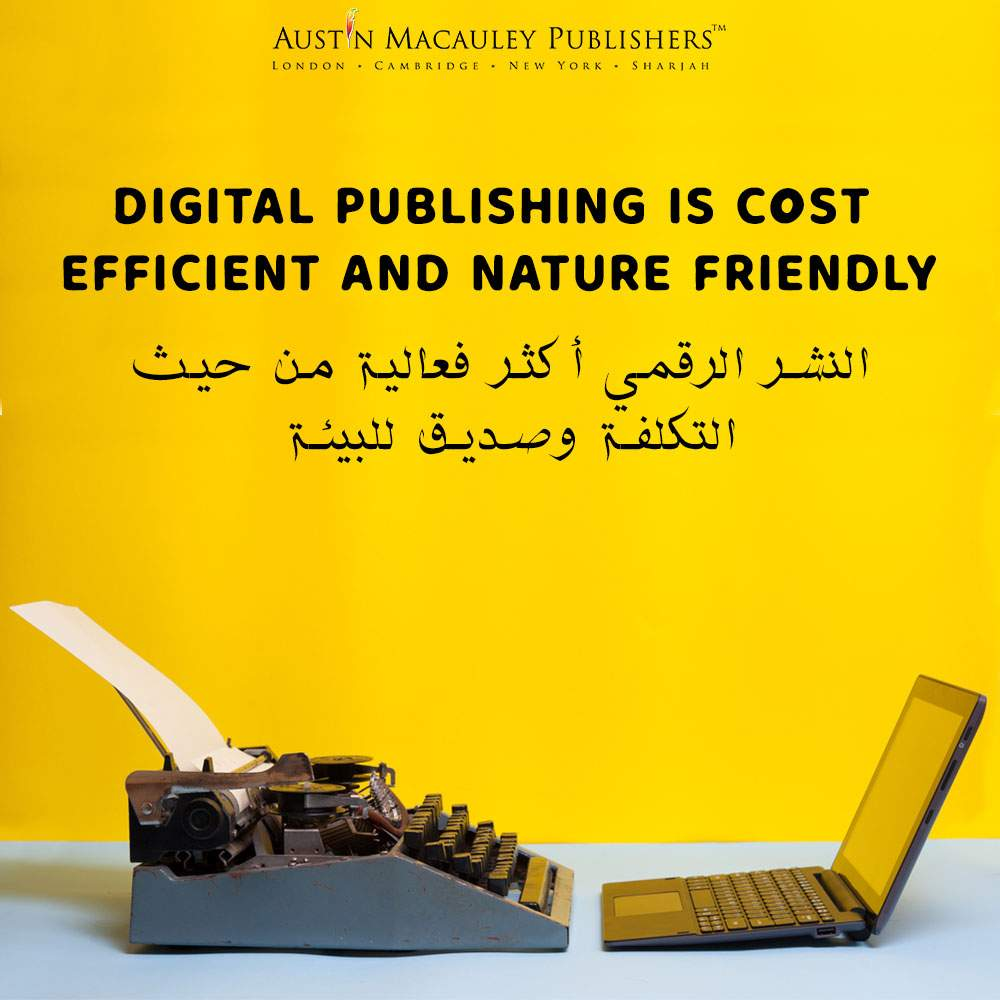 Digital Publishing is Cost Efficient and Nature Friendly