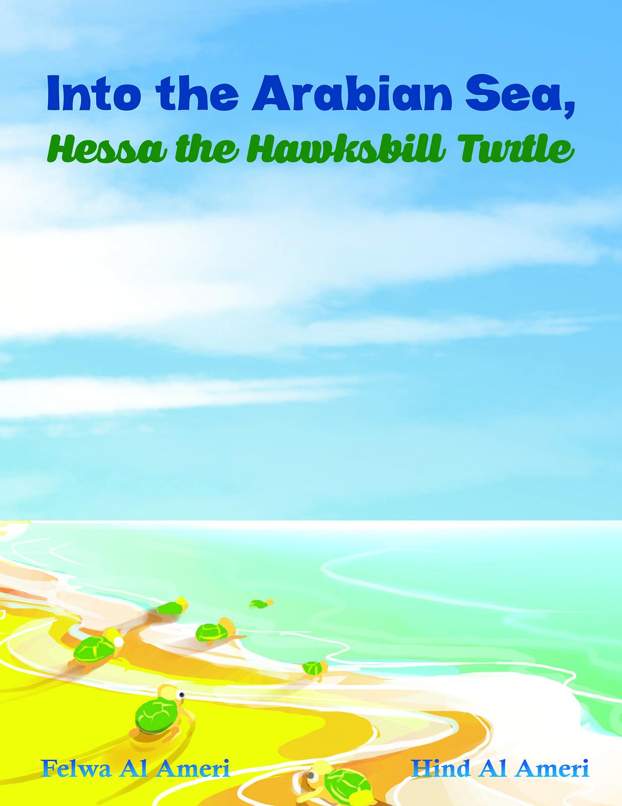 Into the Arabian Sea, Hessa the Hawksbill Turtle